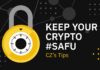 best ways to keep crypto safe